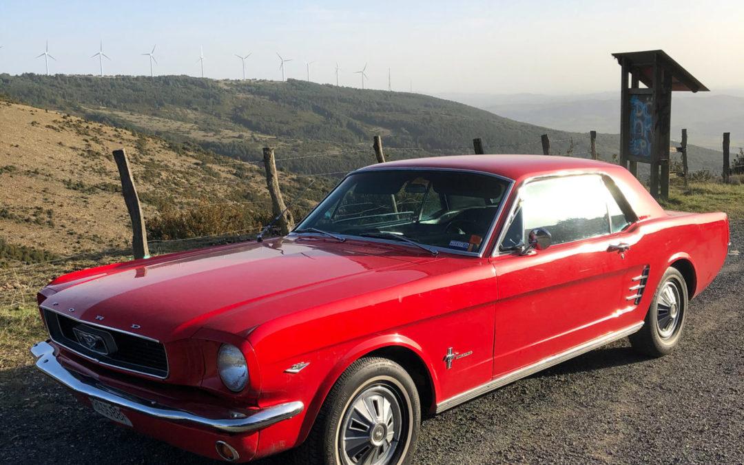 Los coches de nuestros socios: Jairo y su Ford Mustang ´66