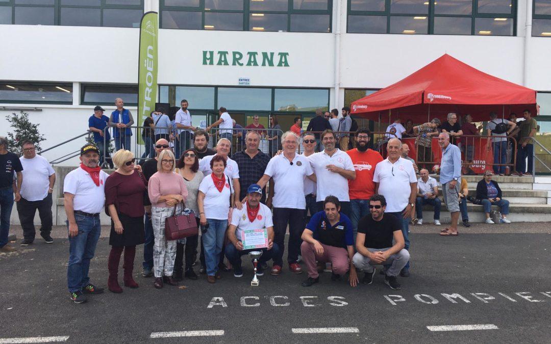 San Fermín Clásicos, Premio al Club más representado en el Auto Retro Hasparren 2019