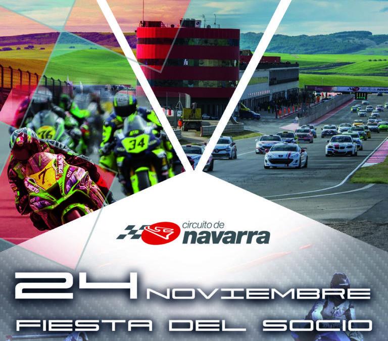 Abierta inscripción Día del Socio Circuito de Navarra (24/11/2019)
