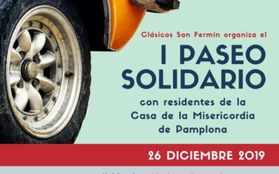 I Paseo Solidario con los Residentes de la Misericordia de Pamplona