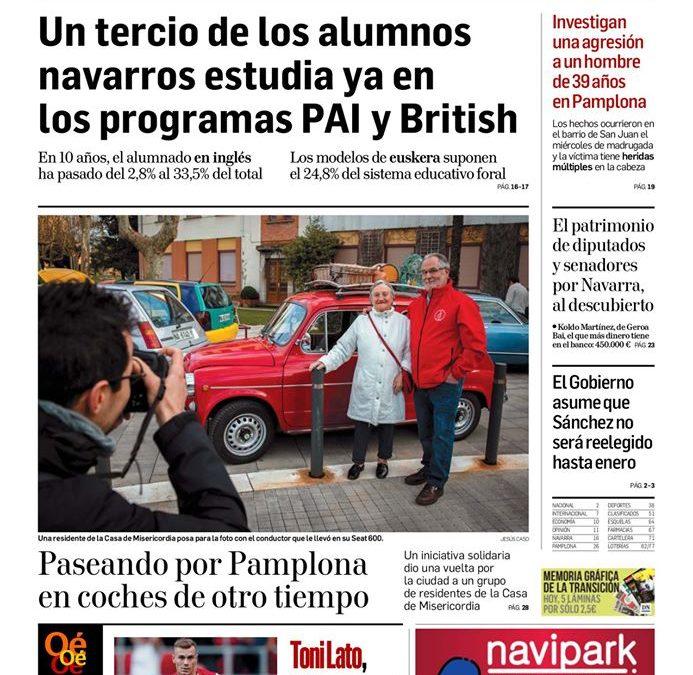 I Paseo Solidario con los Residentes de la Misericordia de Pamplona (resumen)