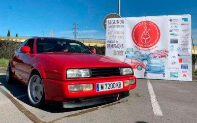 Los coches de nuestros socios: David y Silvia con su Volkswagen Corrado de 1989