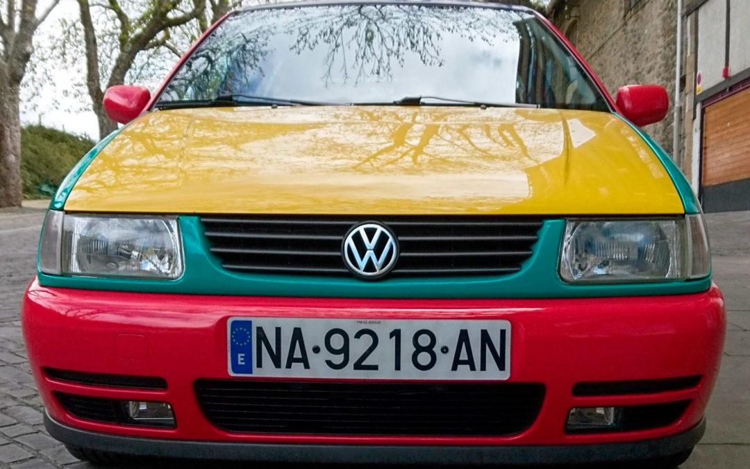 Los coches de nuestros socios: David y su Volkswagen Polo Harlequin de 1995