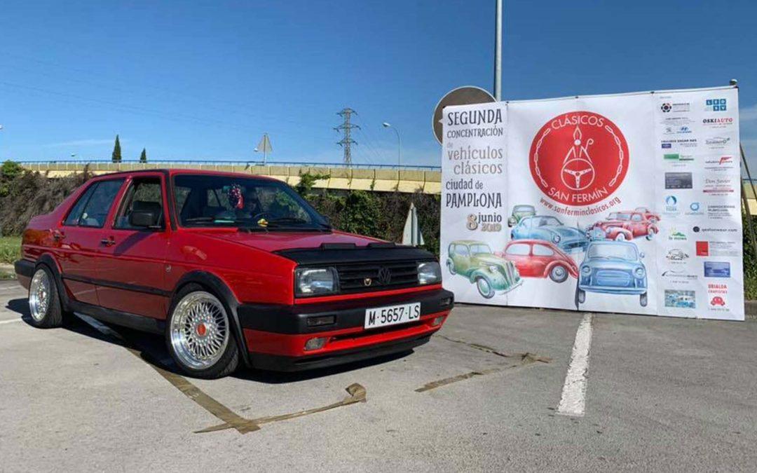 Los coches de nuestros socios: Alberto y su Volkswagen Jetta de 1990 «Stance Old School»