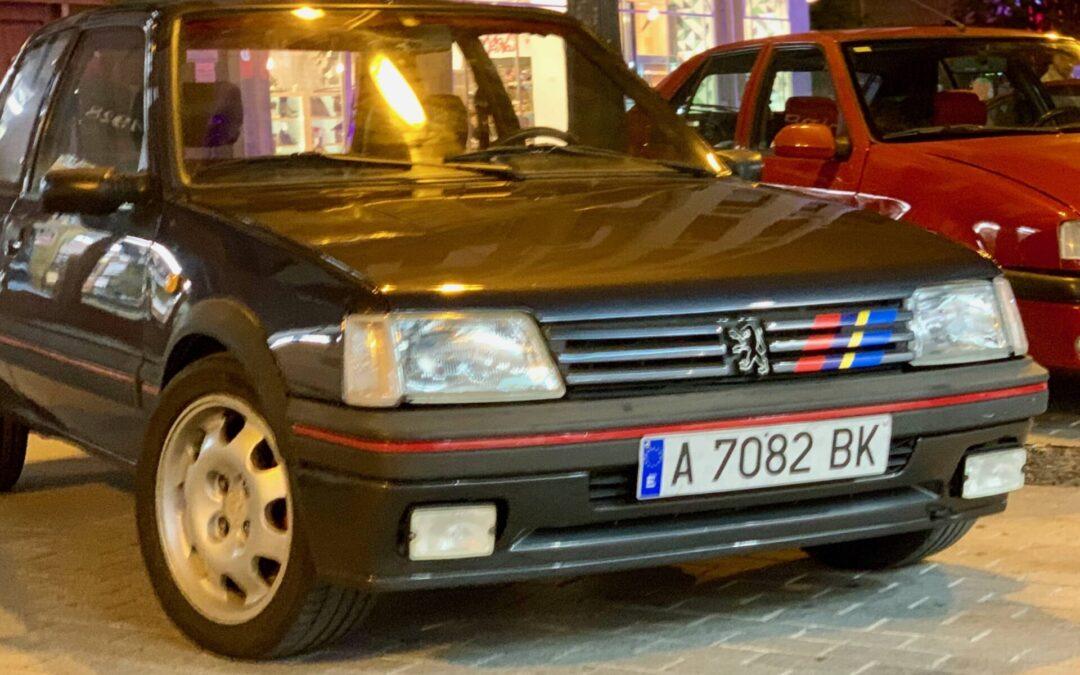 Los coches de nuestros socios: Pedro y su Peugeot 205 GTI de 1989