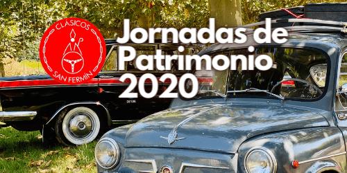 Jornadas de Patrimonio 2020, reivindicando la importancia del coche clásico