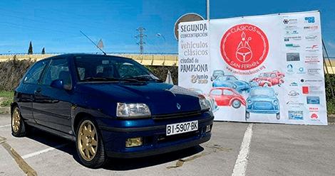 Los coches de nuestros socios: Jaime y su Renault Clio 16v del año fase 1 de 1991